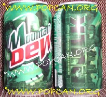 latas de Mountain Dew